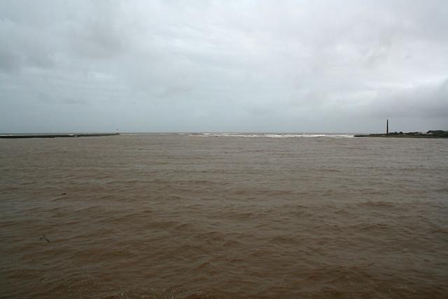 The River Tweed meets the coast at Berwick-upon-Tweed