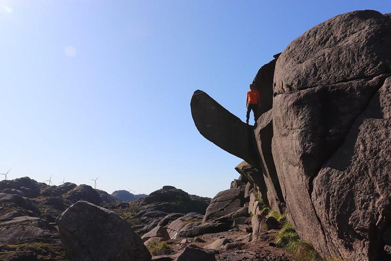 Trekking Trollpikken de Noruega