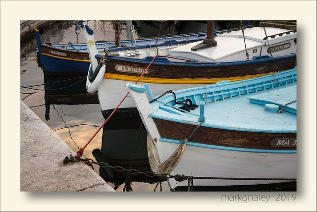 Boats in the Old Port, Marseille.