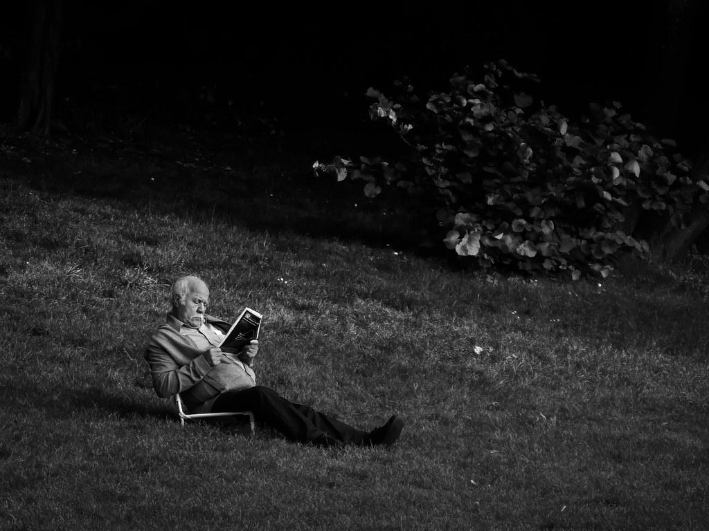 Un peu de lecture au Parc Montsouris... 48828887972_dd8644b716_b