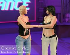 Creative Stylez - Bento Poses - Fist Bump Female -