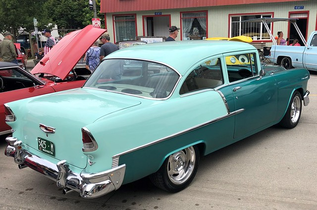 Fifty Five Chevrolet 210