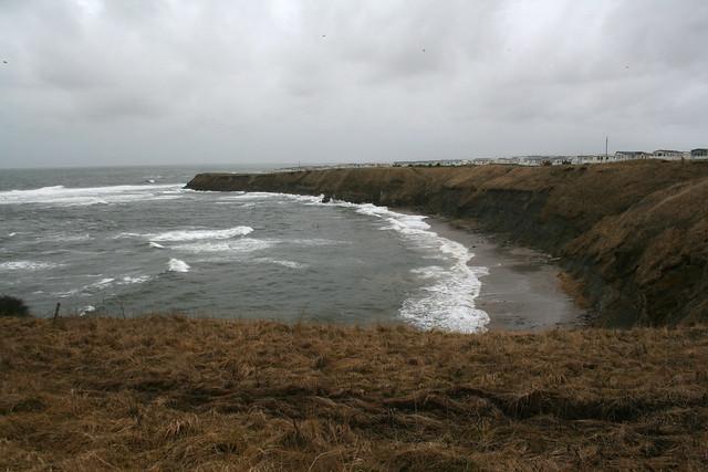 The coast near Berwick-upon-Tweed