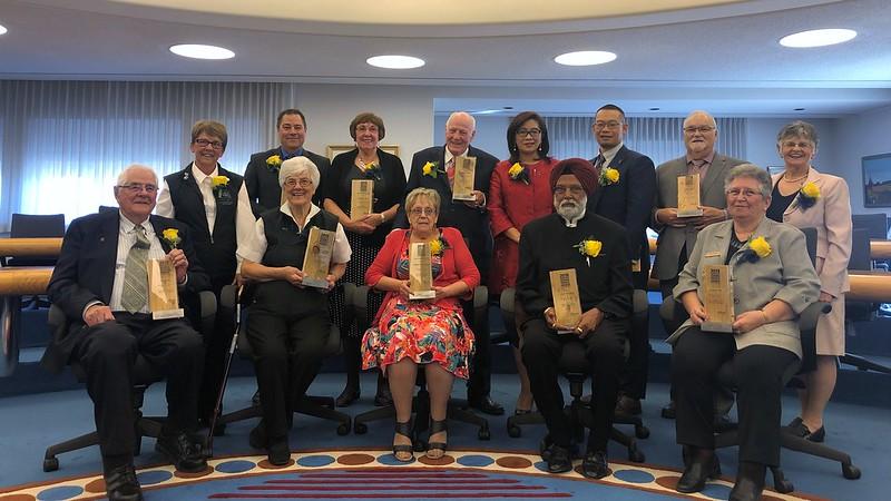 Celebrating outstanding volunteers for seniors