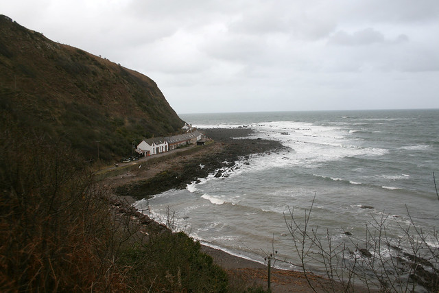 Burnmouth and the houses of Partanhall