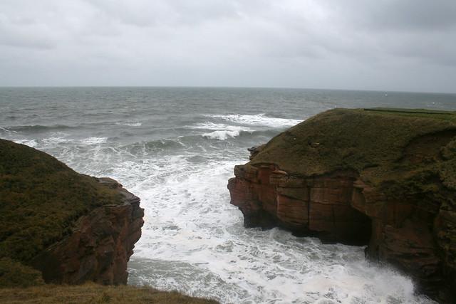 Brotherston's Hole north of Berwick-upon-Tweed