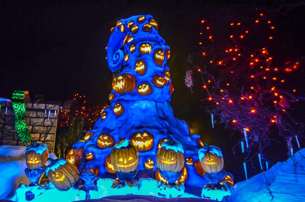 Haunted Mansion pumpkin hat overlay DL