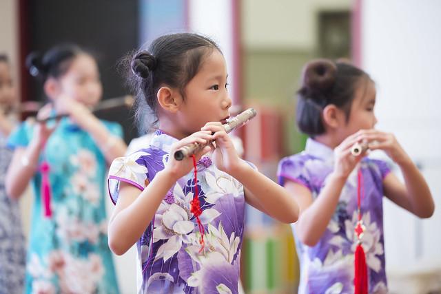 Children Transverse Flute