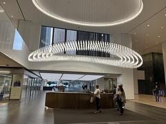 Futuristic Office Lobby on N. Michigan Ave.