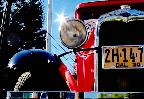 '30 Model A at Campbell Water Tower