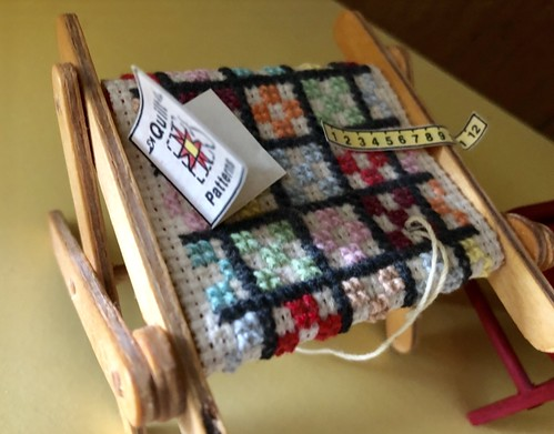 Quilt on Stand