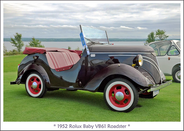1952 Rolux Baby VB61 Roadster