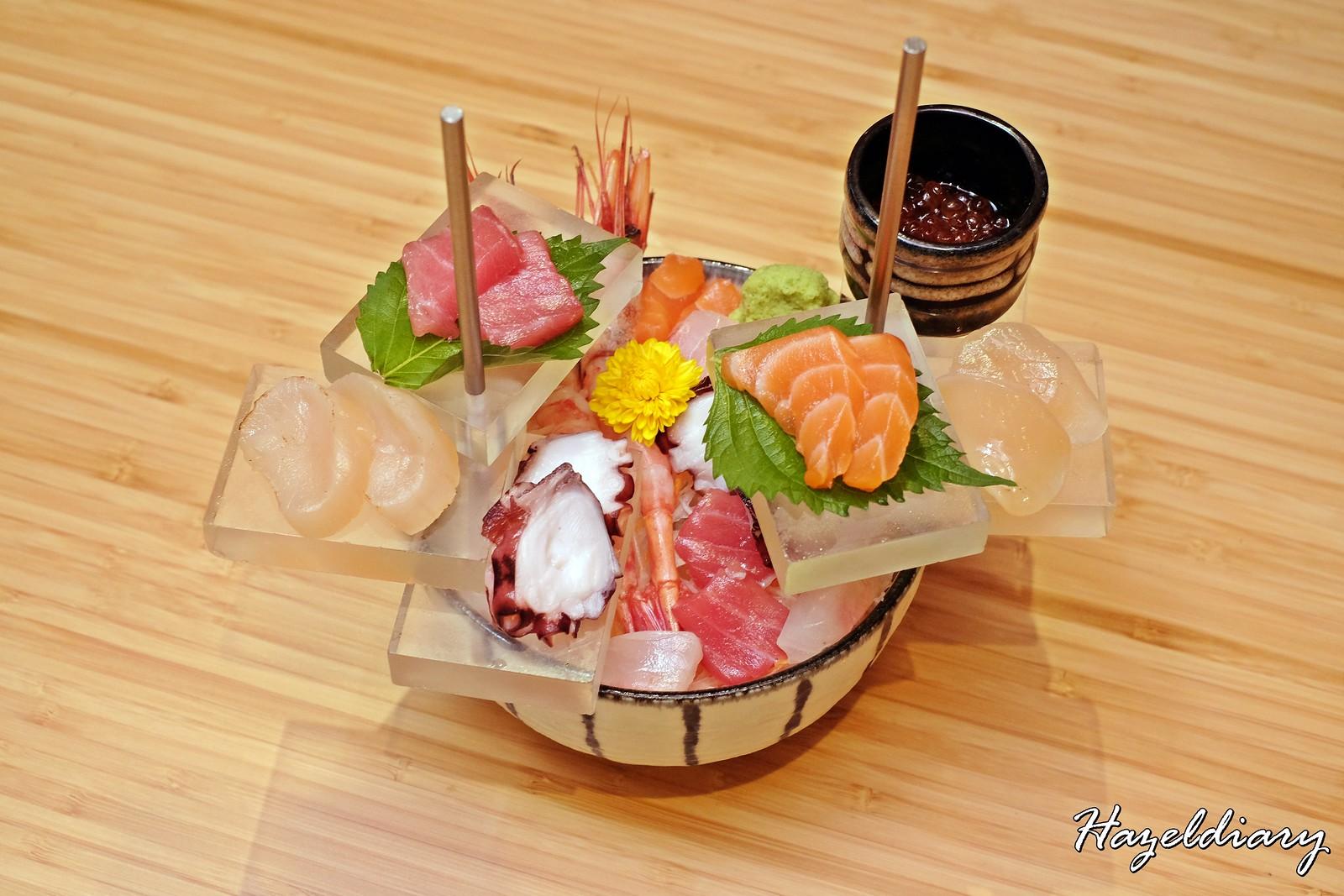 Amazing Hokkaido-Assorted Hokkaido Sashimi