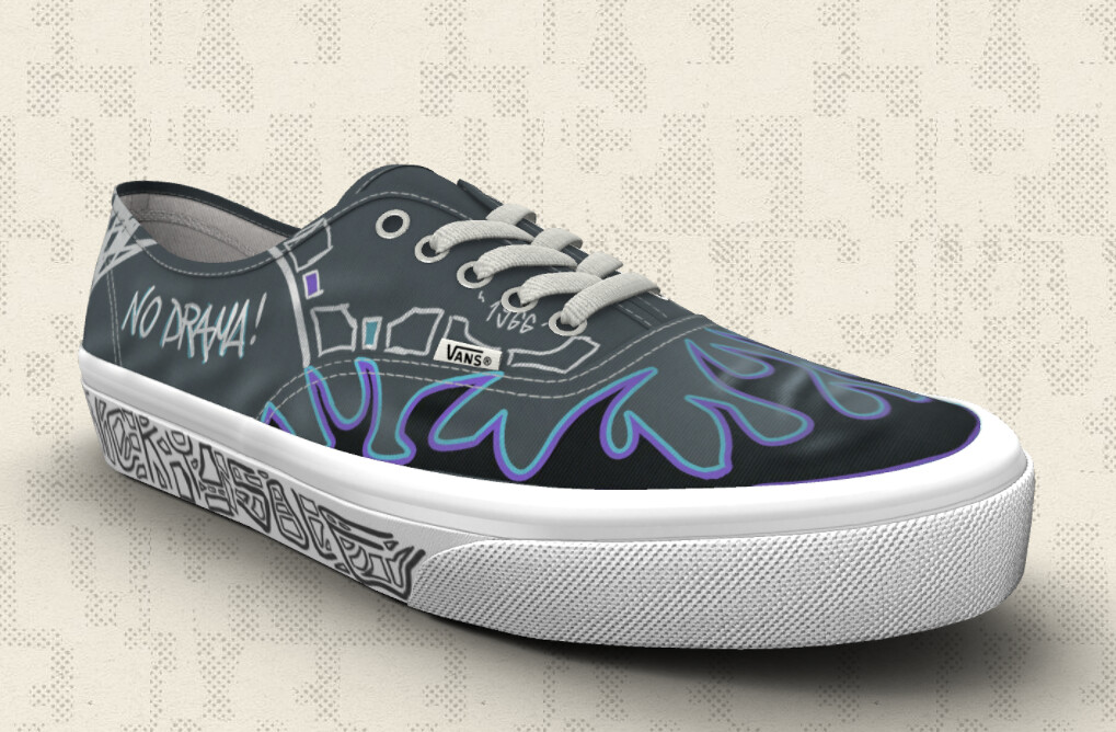 HEY GUYS I PARTICPATED TO VANS CUSTOM CONTEST