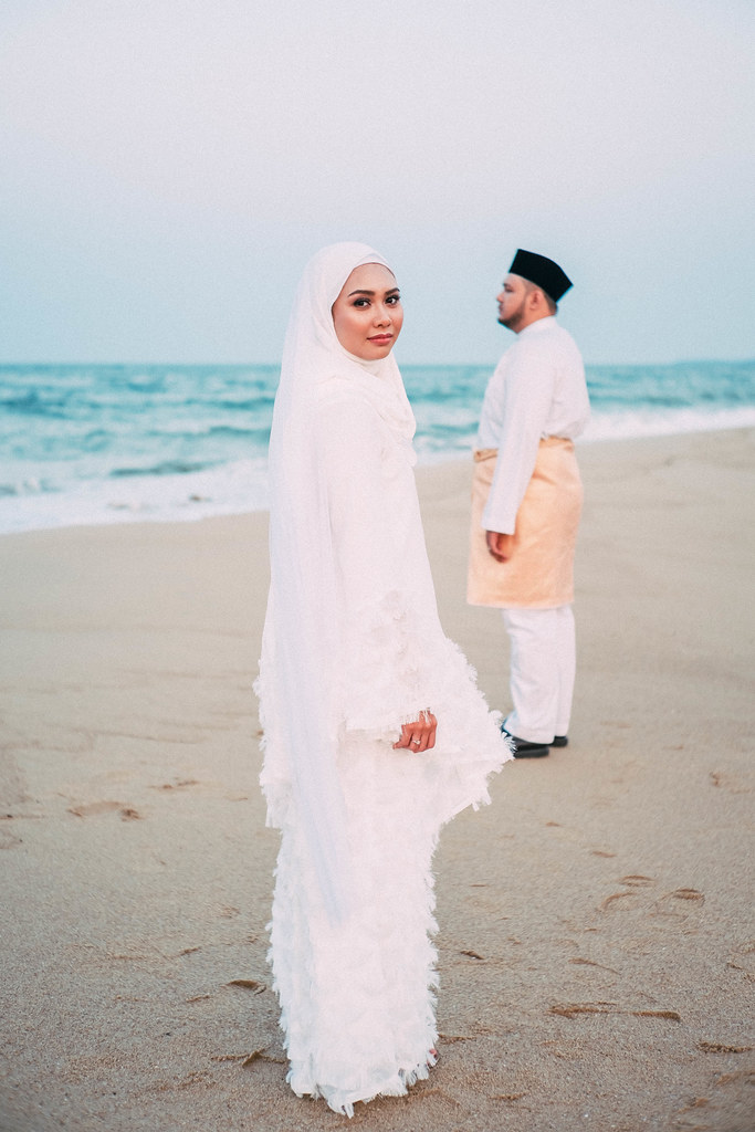Wedding Portrait Pantai Mek Mas