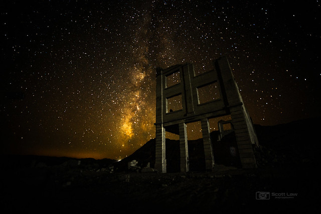 Milky Way in Ghost Town