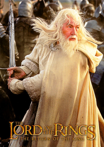 Ian McKellen in The Lord of the Rings - The Return of the King (2003)