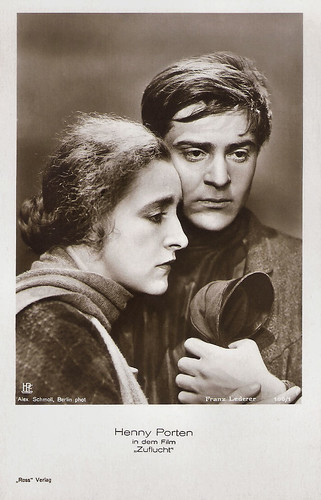 Henny Porten and Franz Lederer in Zuflucht (1928)