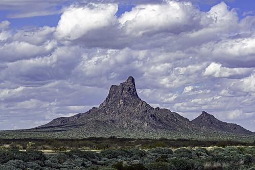 Picacho Peak north of Tucson Arizona