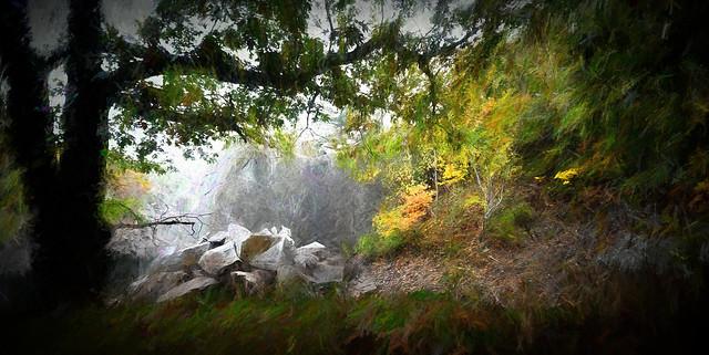 Quarry in Autumn – Version 2