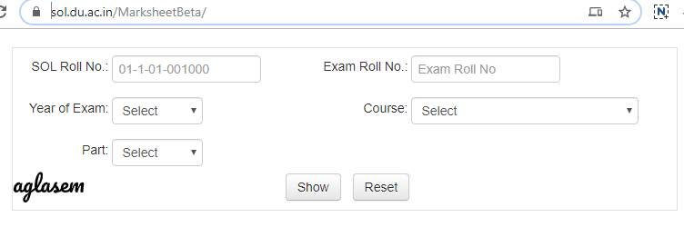 DU SOL Result 2019 announced: Site working now; BA, B.Com Marksheet new link also available