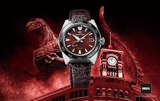 王者之錶降臨!哥吉拉65週念紀念錶款 GRAND SEIKO x ゴジラ Sport Collection Godzilla 65th Anniversary Limited Edition全球限量650支