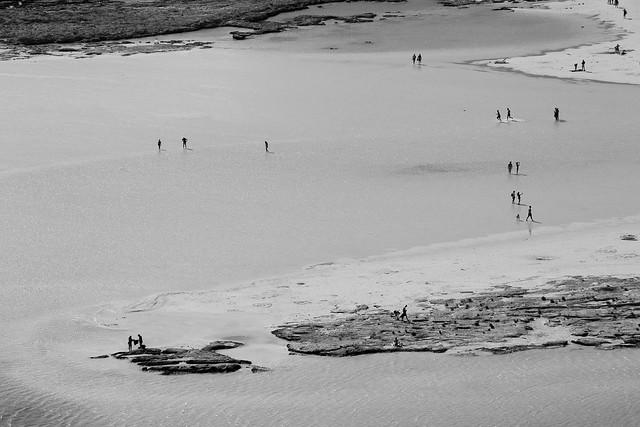 I camminatori  sul mare