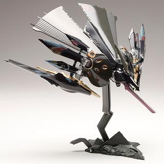 在黑與白的狹縫間求生!壽屋《斑鳩》飛鐵塊 銀鷄【黑】(IKARUGA ひてっかい ぎんけい クロ)