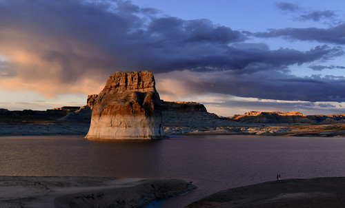 usa us etatsunis arizona page nikon d850 lacpowell lakepowell lonerock sunset coucherdesoleil