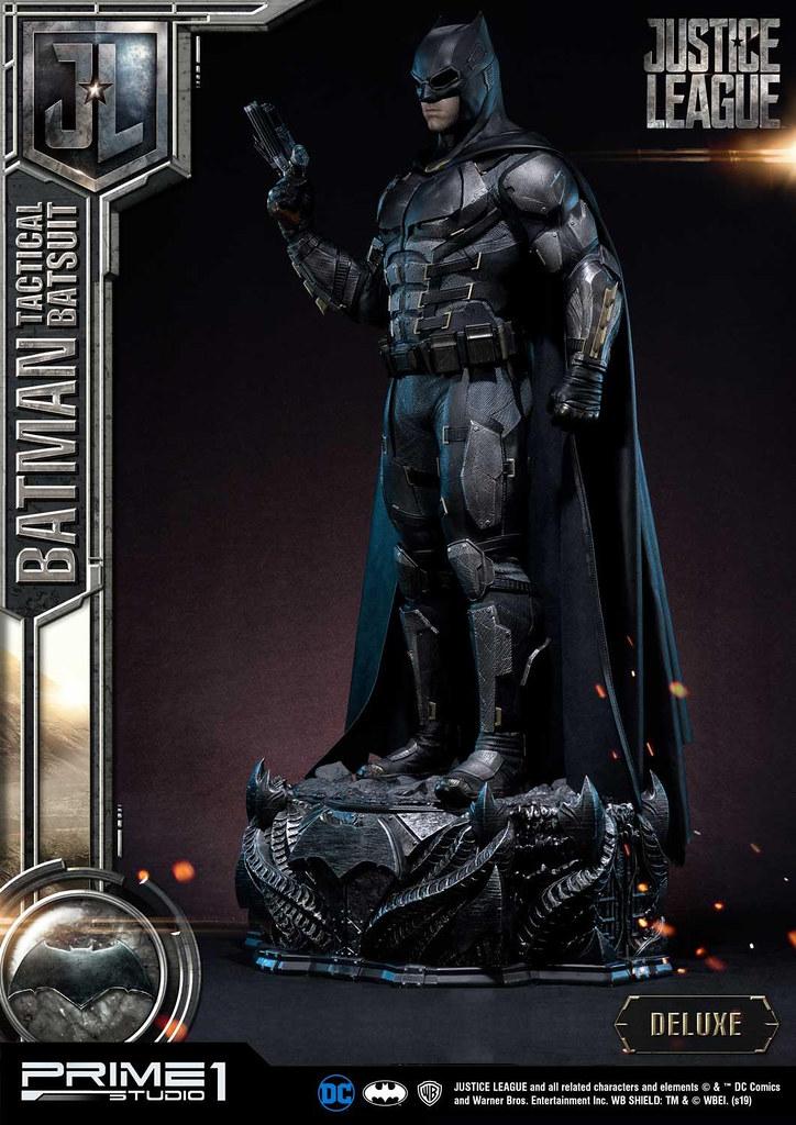 Prime 1 Studio《正義聯盟》蝙蝠俠 戰術蝙蝠裝 バットマン タクティカルスーツ 1/3 比例全身雕像 普通版/DX版