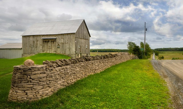 The Stone Walls Of Amherst Island
