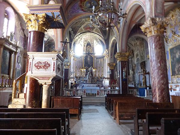 l'église de Saorge