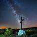 Milky Way over the village of Moldones