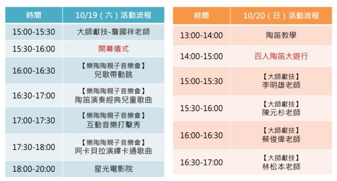 2019鶯歌陶瓷親子嘉年華活動