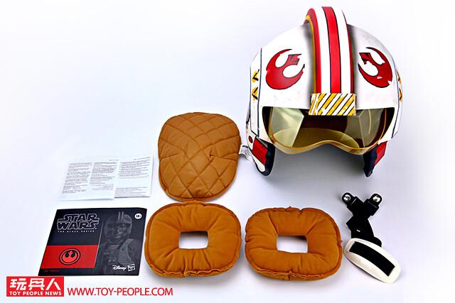 化身逆轉局勢的星戰英雄!孩之寶黑標系列《星際大戰》路克·天行者 1:1 比例電子頭盔 開箱報告