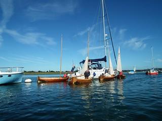 Bosham support boat