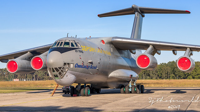 Ukraine Air Force Ilyushin IL-76 76683