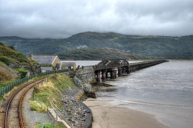Barmouth Bridge, North Wales