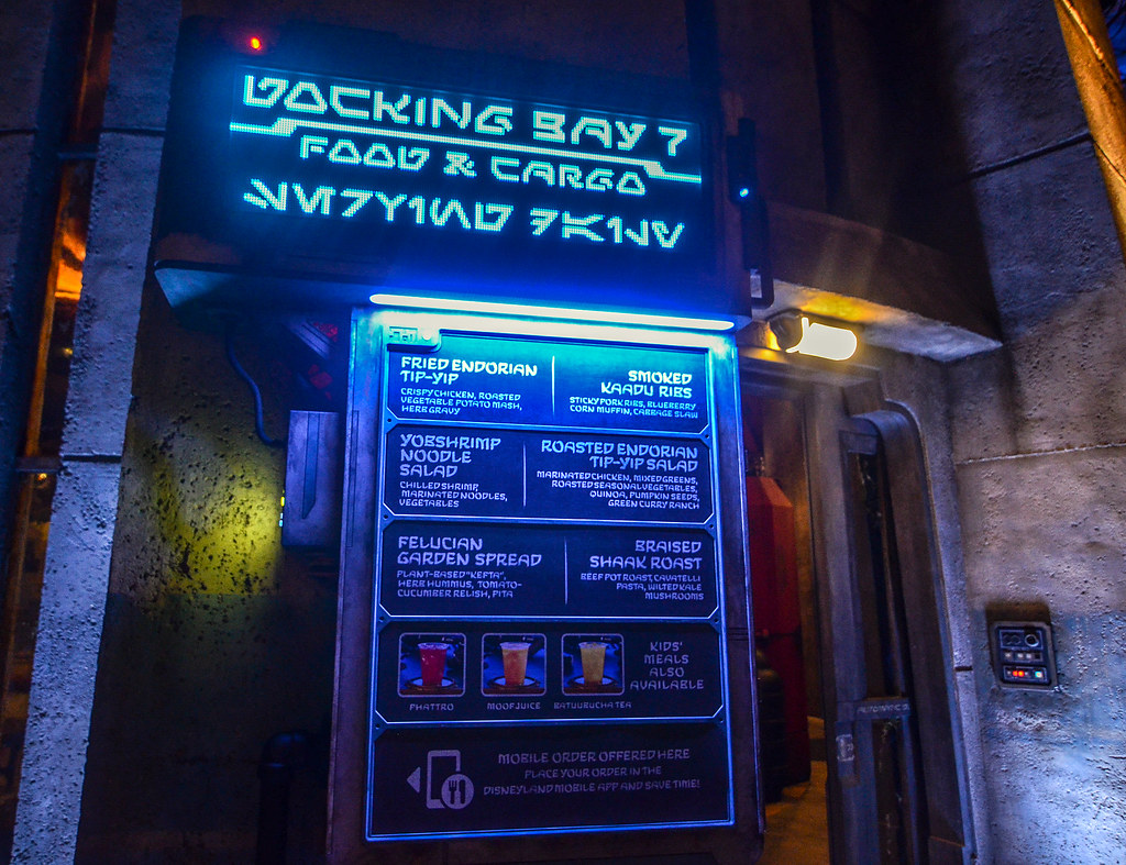 Docking Bay 7 sign SWGE DL