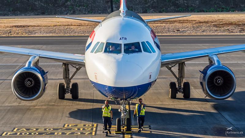 G-GATR British Airways Airbus A320-232
