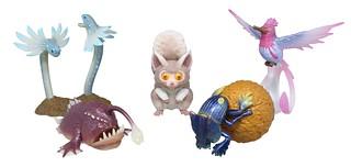 超可愛的溫泉銀猴也立體化!T-ARTS《魔物獵人世界:ICEBORNE》轉蛋「環境生物圖鑑」第二彈