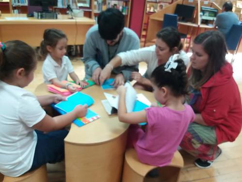 visita a la biblioteca pública