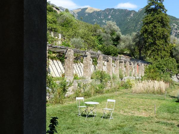 monastère saorge jardin