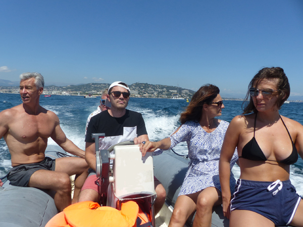 un tour en mer