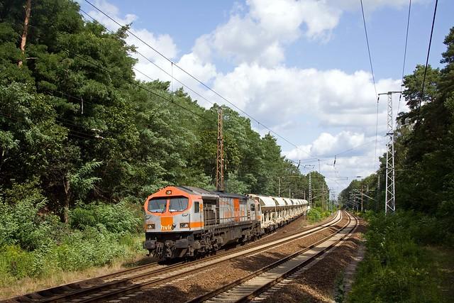 HVLE V330 7 + 95647 Röderau - Potsdam Rehbrücke  - Wilhelmshorst - über Priort (Kopf) und Michendorf (Kopf)