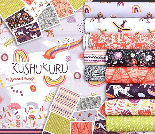 Art Gallery Fabrics Kushukuru Collection by Jessica Swift