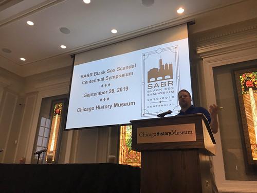 2019 SABR Black Sox Scandal Centennial Symposium
