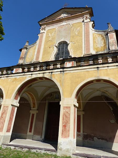 façade monastère de saorge