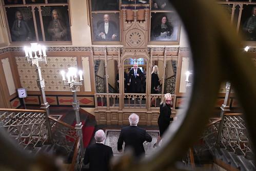 Valsts prezidents Egils Levits piedalās Pasaules Brīvo latviešu apvienības gadskārtējās valdes sēdes atklāšanā