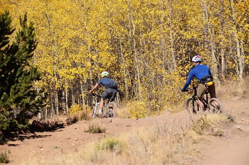 Fall foliage hike at Colorado Trail, Kenosha Pass  (180)